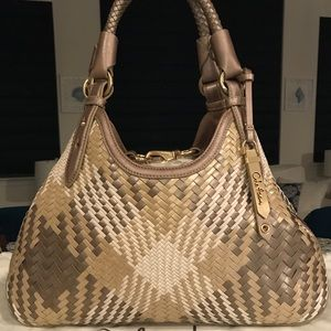✨SALE!✨Cole Haan Genevieve RARE! Woven Leather Bag